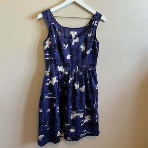Loft Dress Size 2 Blue